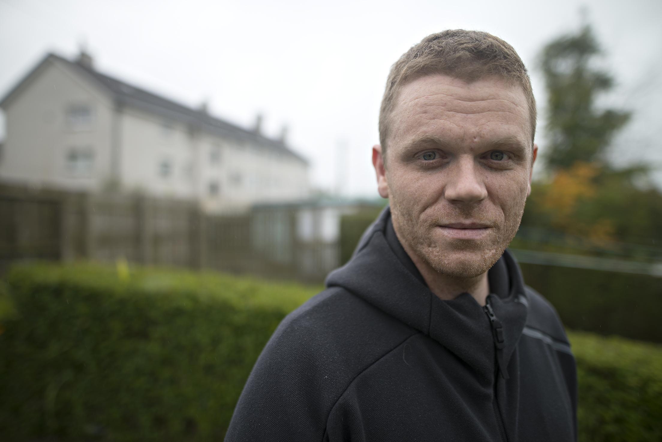 Darren McGarvey has been critical of drugs policy.