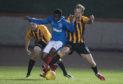 Mati Zata in action for Rangers