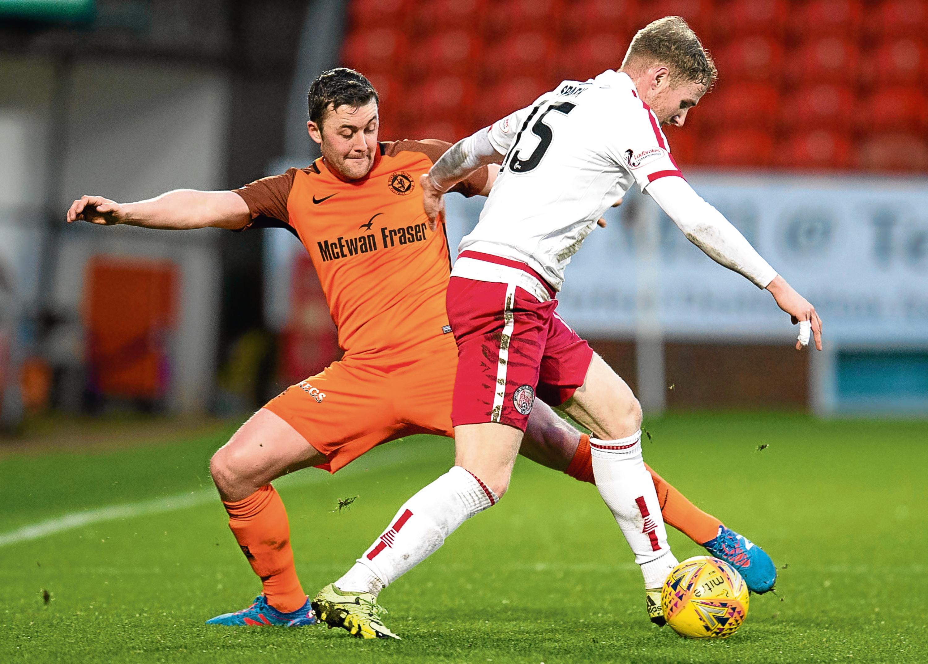 Tam Scobbie looks set to return to the Dundee United defence at Inverness.