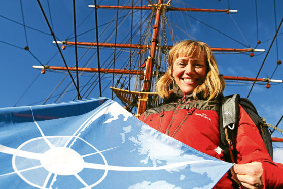 Dr Beth Christie from Carnoustie, who is going on the voyage
