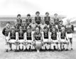 Aston Villa's 1982 European Cup winning side. Ken McNaught is in the back row, second right