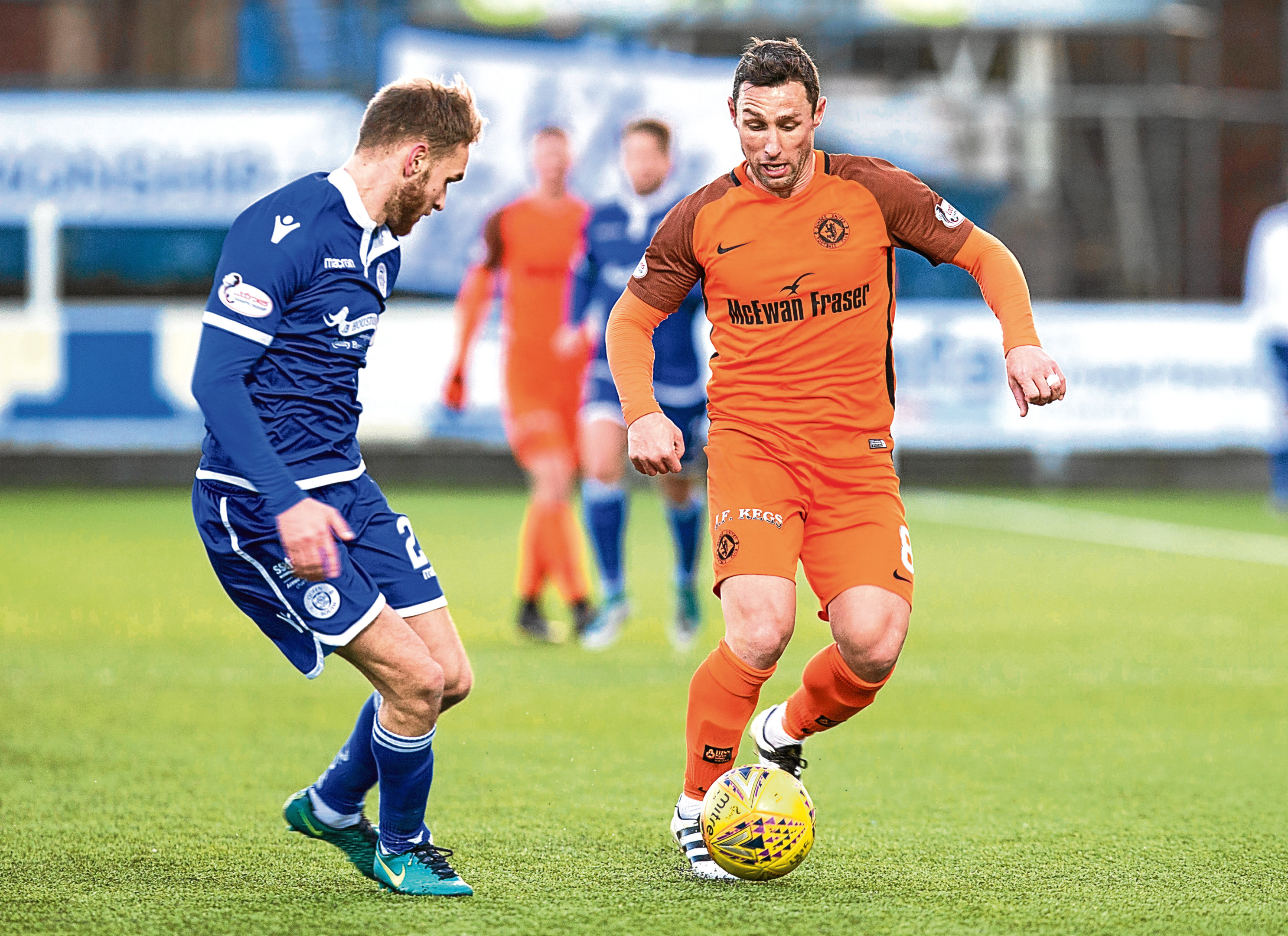 Dundee United have three ties to be re-arranged, including QOS.