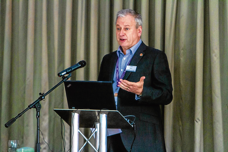 Chief executive of Dundee City Council David Martin