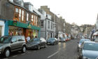 Gray Street in Broughty Ferry (stock image)