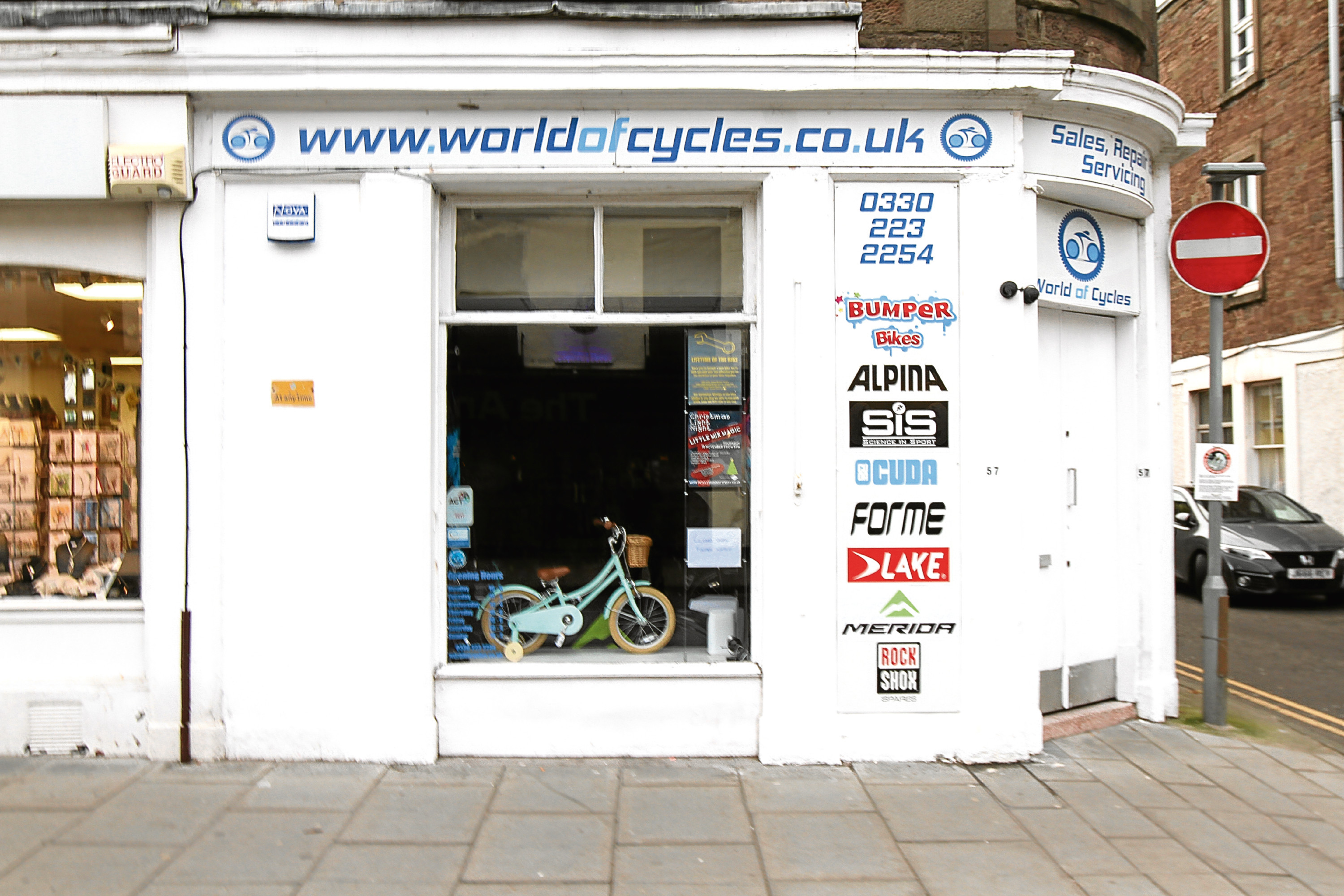 World of Cycles in Broughty Ferry