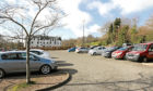 Dudhope Castle car park in Dundee will be the new site of the Dundee drive-through testing centre. (Library image).