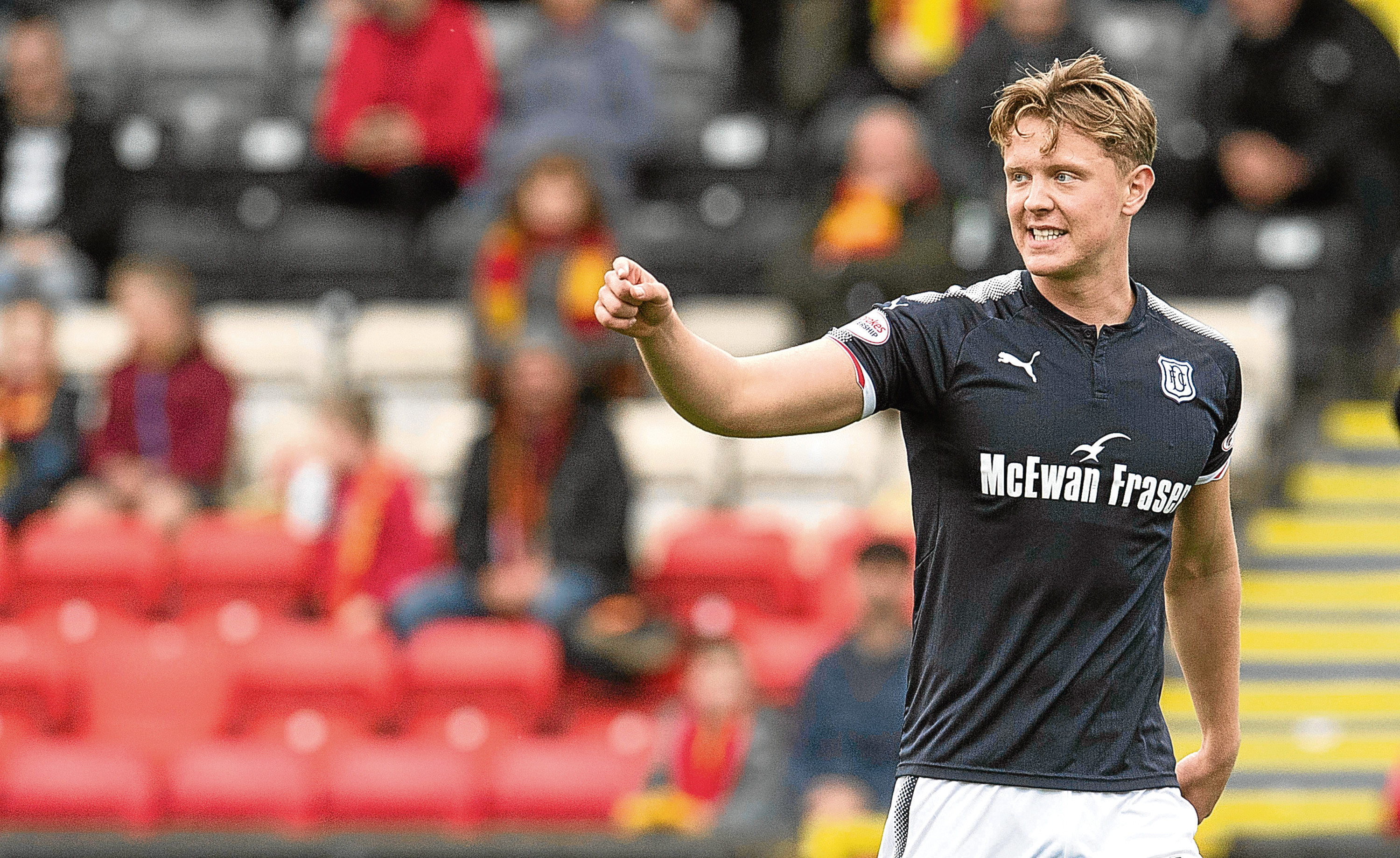 Mark O'Hara in action for Dundee