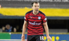 Dundee's Paul McGowan can't hide his frustration after Kilmarnock score late on