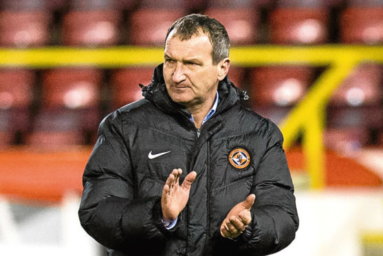 Csaba Laszlo after the 4-2 Scottish Cup defeat to Aberdeen