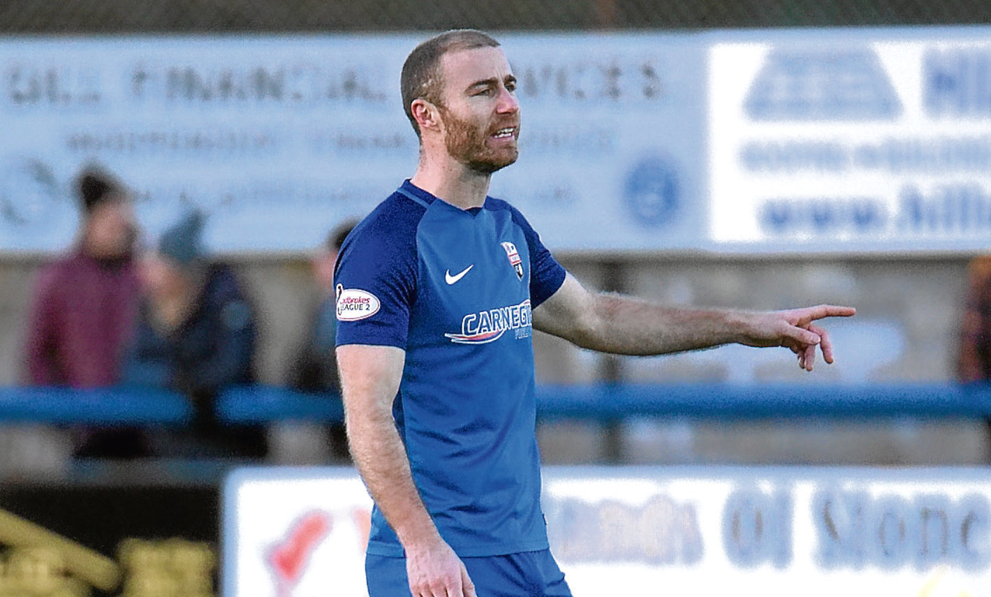 Sean Dillon is now a player/coach at League Two side Montrose