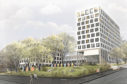 An artist's impression of the new design for the former Dundee College site in Constitution Road.