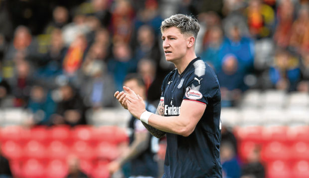 Dundee centre-back Josh Meekings.