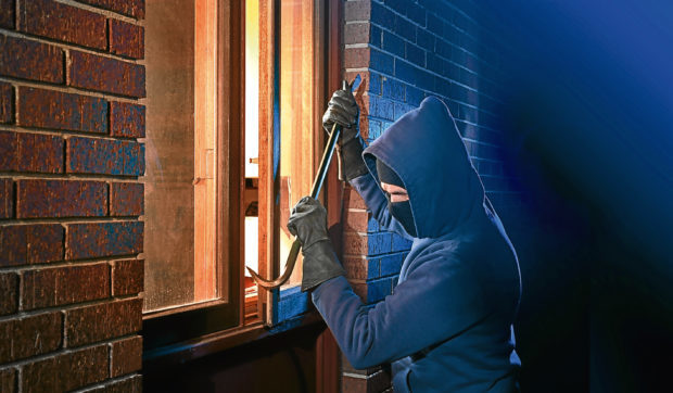 Break-ins are on the rise in Dundee.