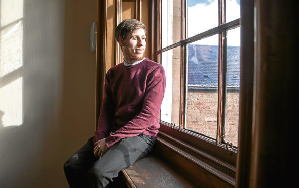 Councillor Ben Lawrie opens up about battle with depression and suicide ahead of new documentary being released about his dark struggles  Pic Paul Reid