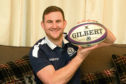 Arbroath man Iain Cooper caught the match-winning rugby ball at the end of Saturdays Calcutta Cup victory at Murrayfield. Scotland beat England 25-13 in the Six Nations clash