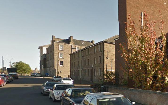 Ann Street, Dundee (stock image)