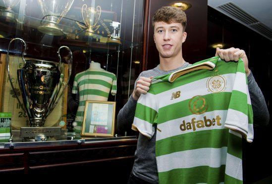 New Celtic defender Jack Hendry