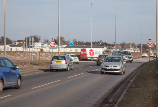The A92/Westway junction