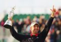 Padraig Harrington lifts the Claret Jug the last time The Open visited Carnoustie