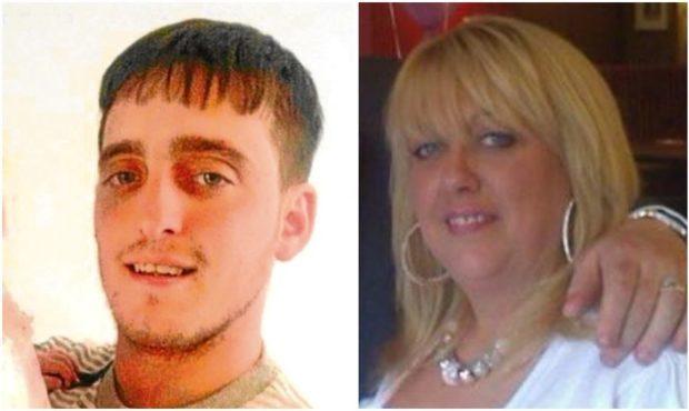 Dale Thomson and mum Mandy McLaren