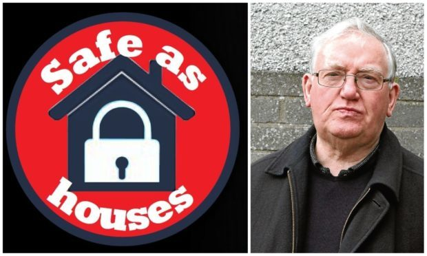 """Gordon Samson, chairman of Dundee Pensioners' Forum, has warned of the """"ever-shifting"""" threat from fraudsters."""