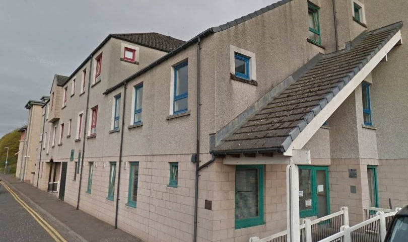 The Dundee Survival Group premises on Foundry Lane