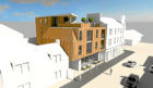An artist impression of the proposed flats