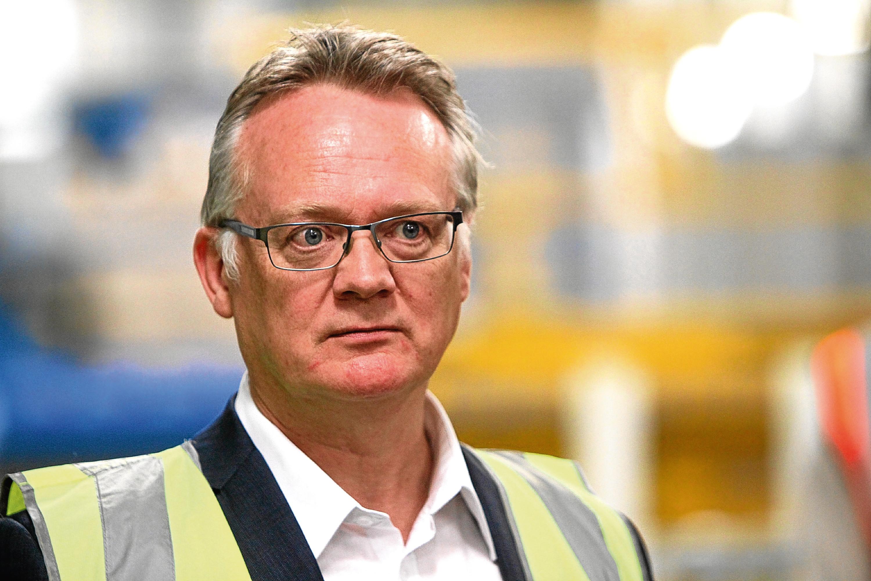 Dundee Michelin boss John Reid