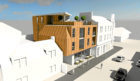 An artist impressions of the proposed development