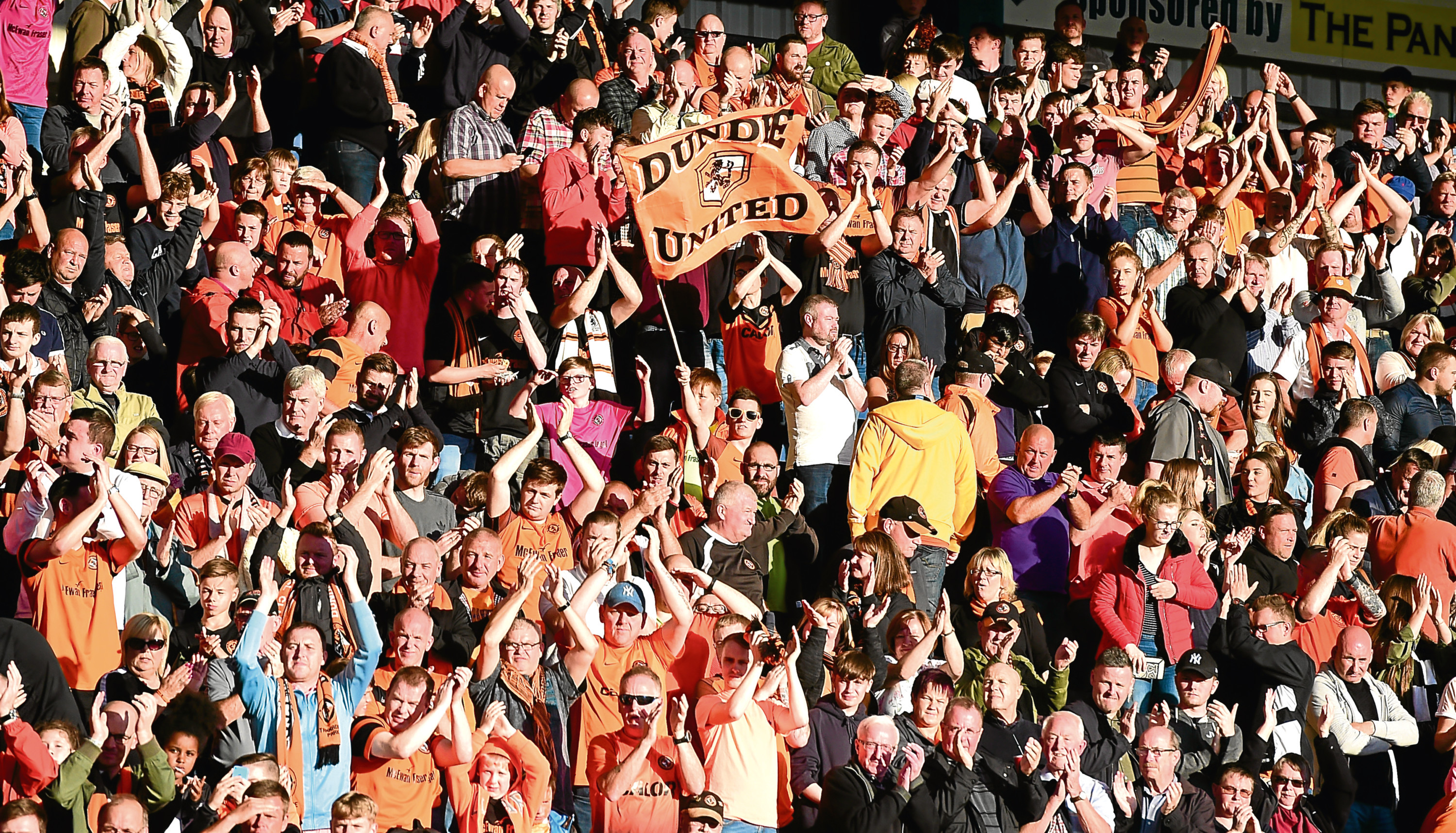 Dundee United fans have again backed their club with big season ticket sales.