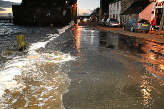 Flooding in Fisher Street in 2013