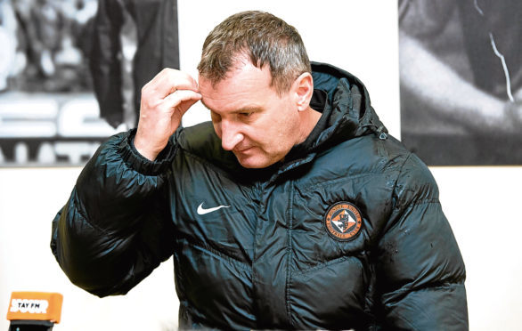 Dundee United have sacked manager Csaba Laszlo.