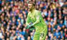 Scott Bain in action for Celtic