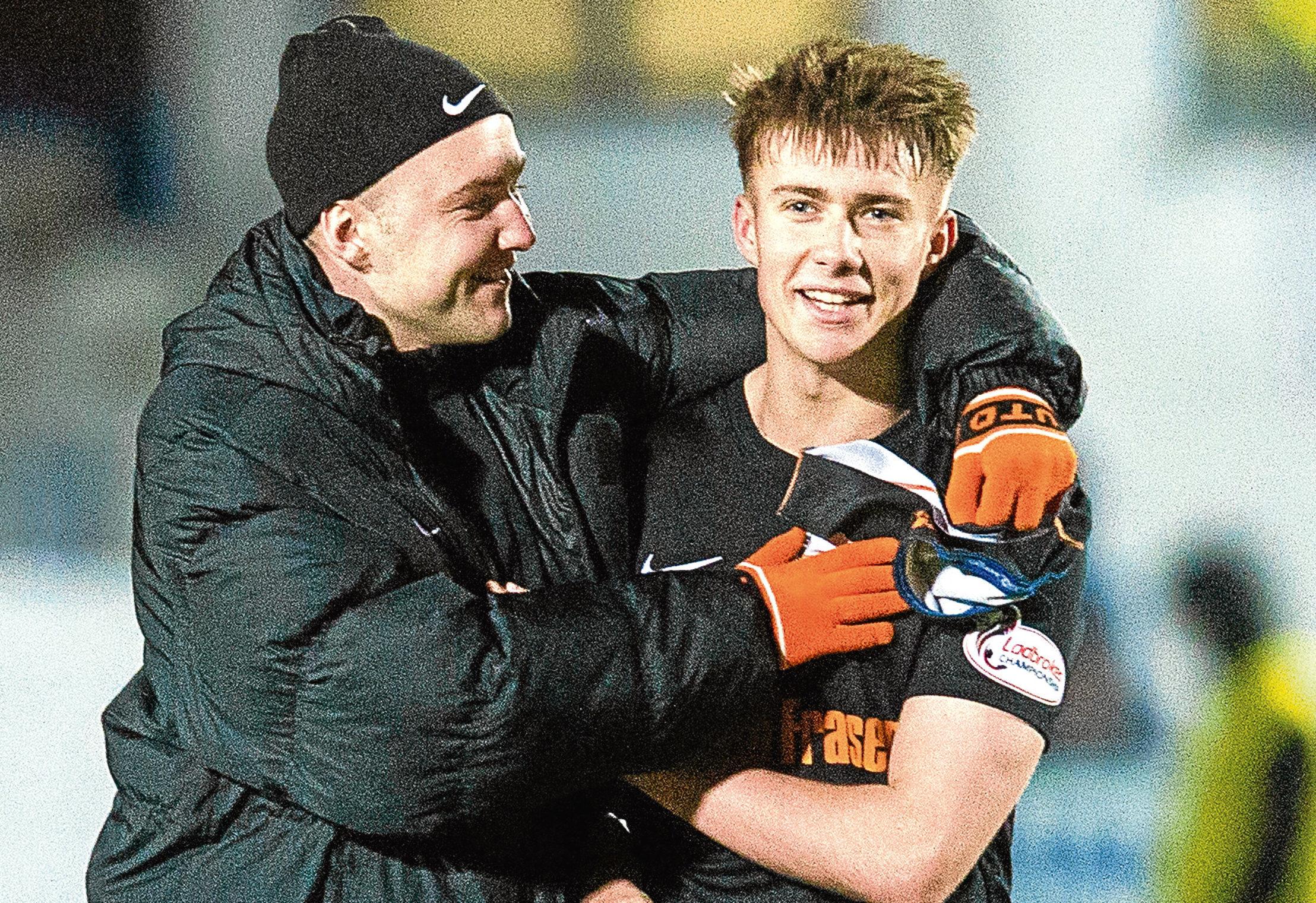Dundee Utd's Matt Smith