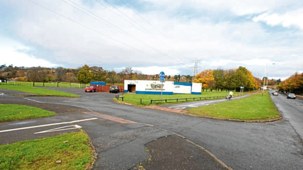 The car park at Drumgeith Park may be extended