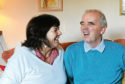 Amanda Kopel, pictured with her late husband Frank in 2013.