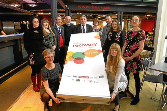 Launch of the 'Making Recovery Real in Dundee' at the DCA