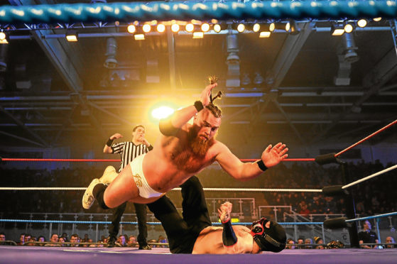 There will be no grappling action at the Ice Arena next month.