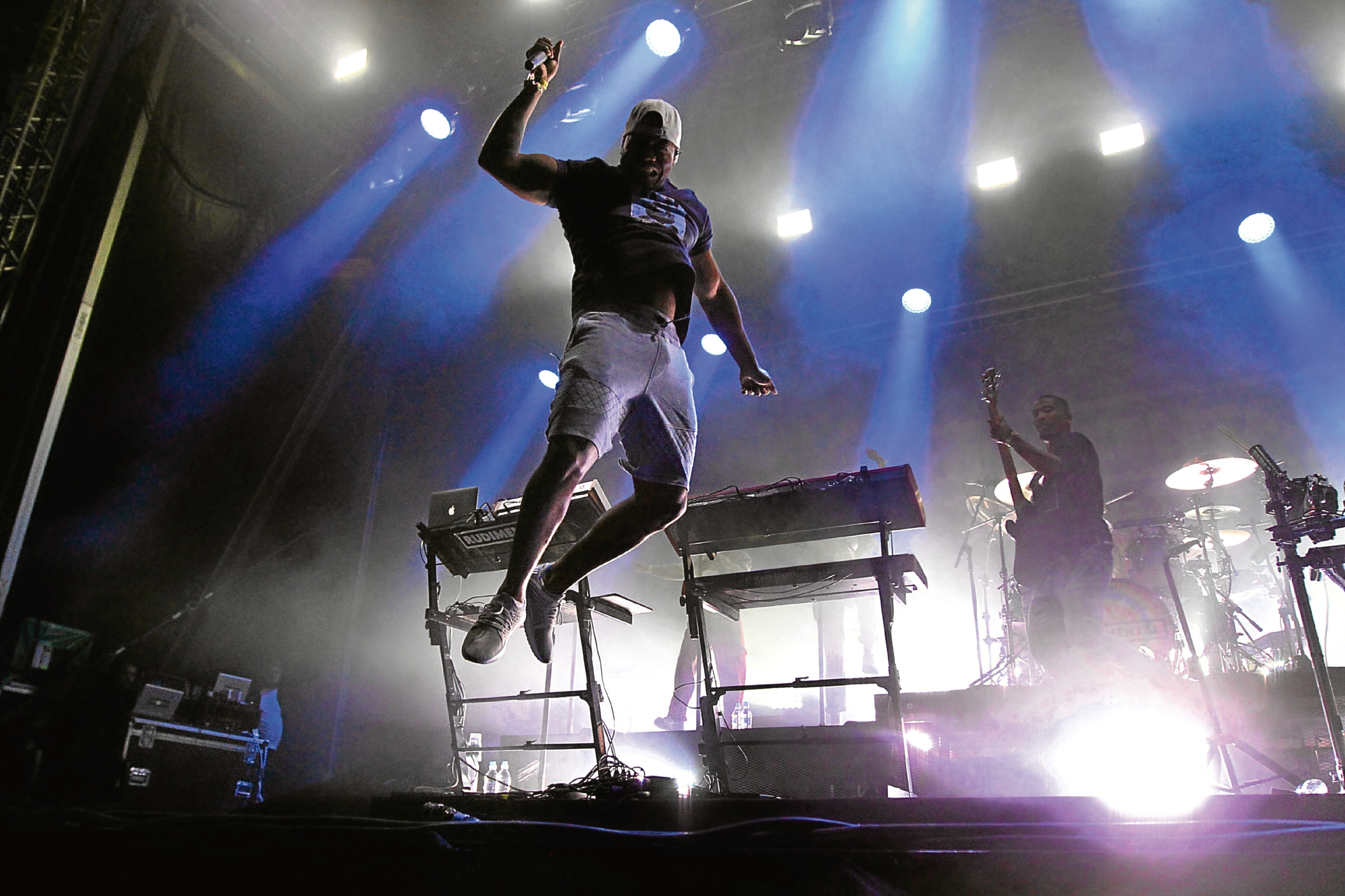 Rudimental performing on the main stage at last year's Carnival Fifty Six in Camperdon Park.