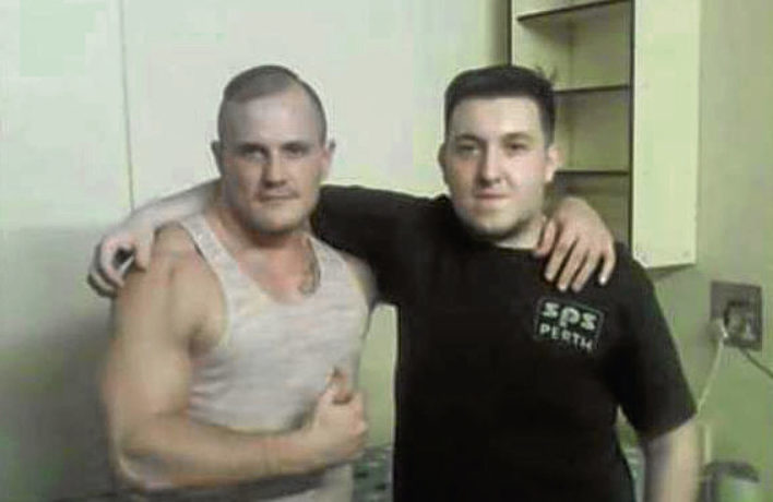 Perth prisoners have posted their photos on social media.