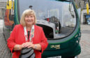 Elsie Turbyne, who is leaving her position as managing director of Dundee's biggest bus firm Xplore.