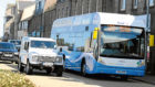 Dundee is set to gain a fleet of 12 hydrogen buses, similar to those being used in Aberdeen (above).
