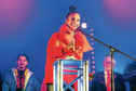 Alesha Dixon switched on Perth's Christmas lights last year