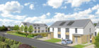 A 3D image of how the new homes could look