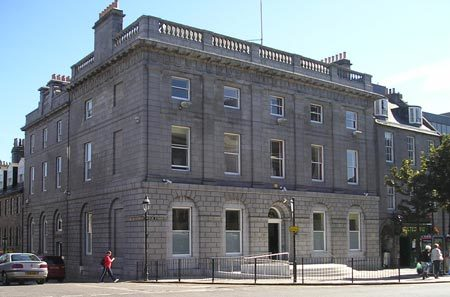 Aberdeen Sheriff Court (stock image)