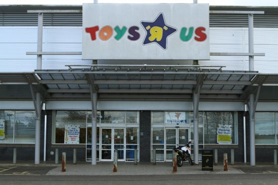 The former Toys R Us store at Kingsway West Retail Park.