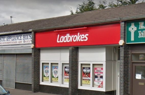 Ladbrokes in Clepington Road (stock image)