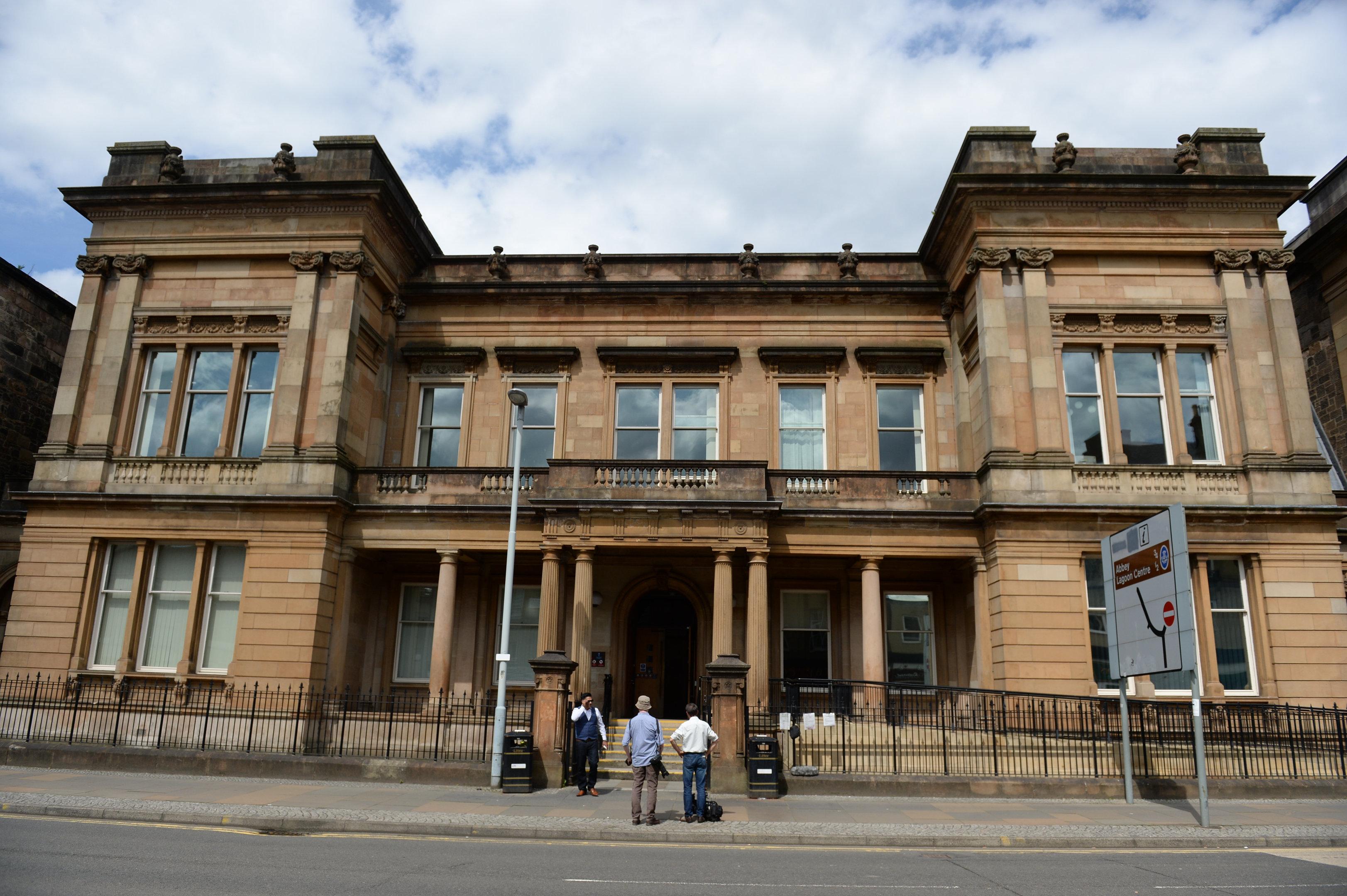 Paisley Sheriff Court (stock image)