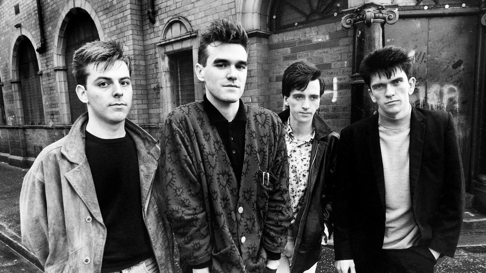 The Smiths in their heyday