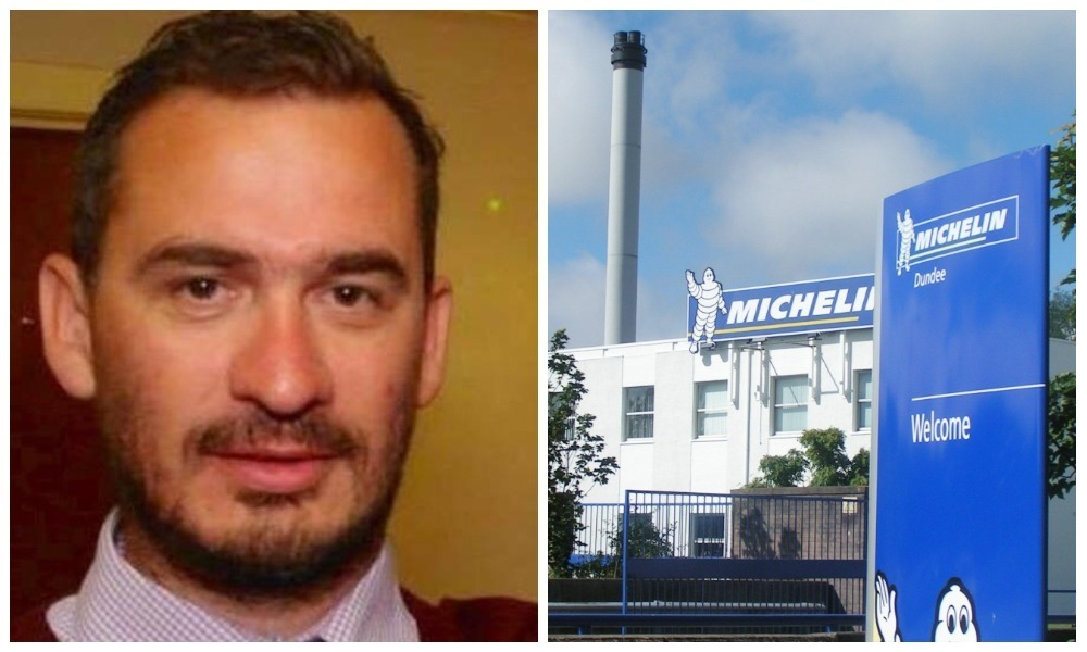 Stan Reid was sacked by Michelin following the deaths of two friends